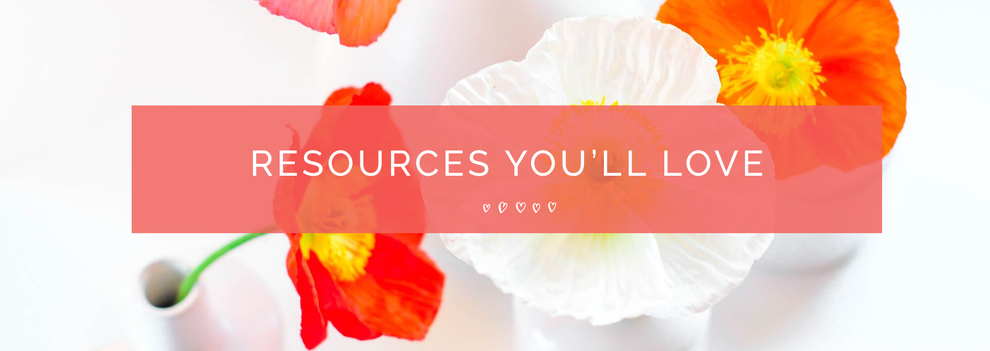 Resources Page Header