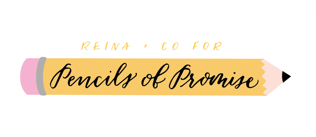 Reina + Co Pencils of Promise