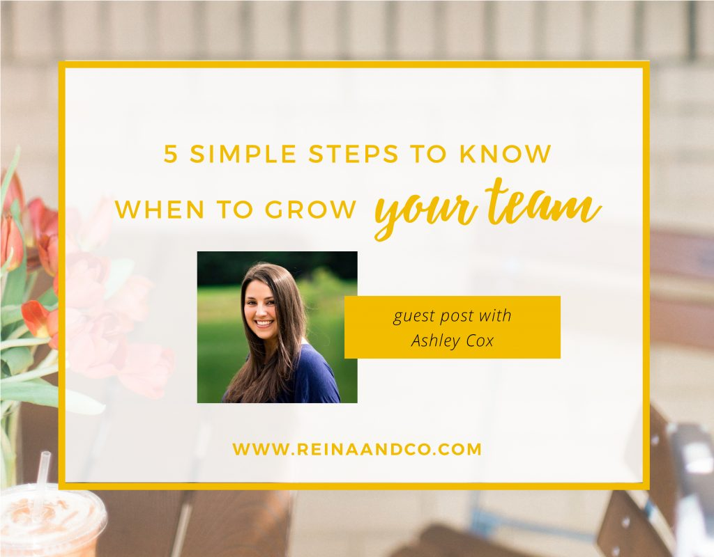 5 Simple Steps to Know When to Grow Your Team