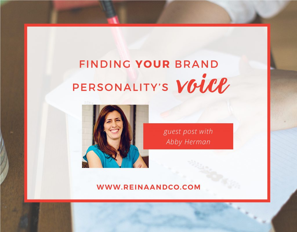 Finding YOUR Brand Personality's Voice