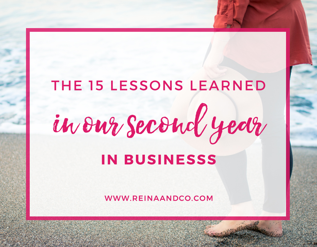 The 15 lessons learned in our second year in business