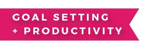 Goal Setting and Productivity