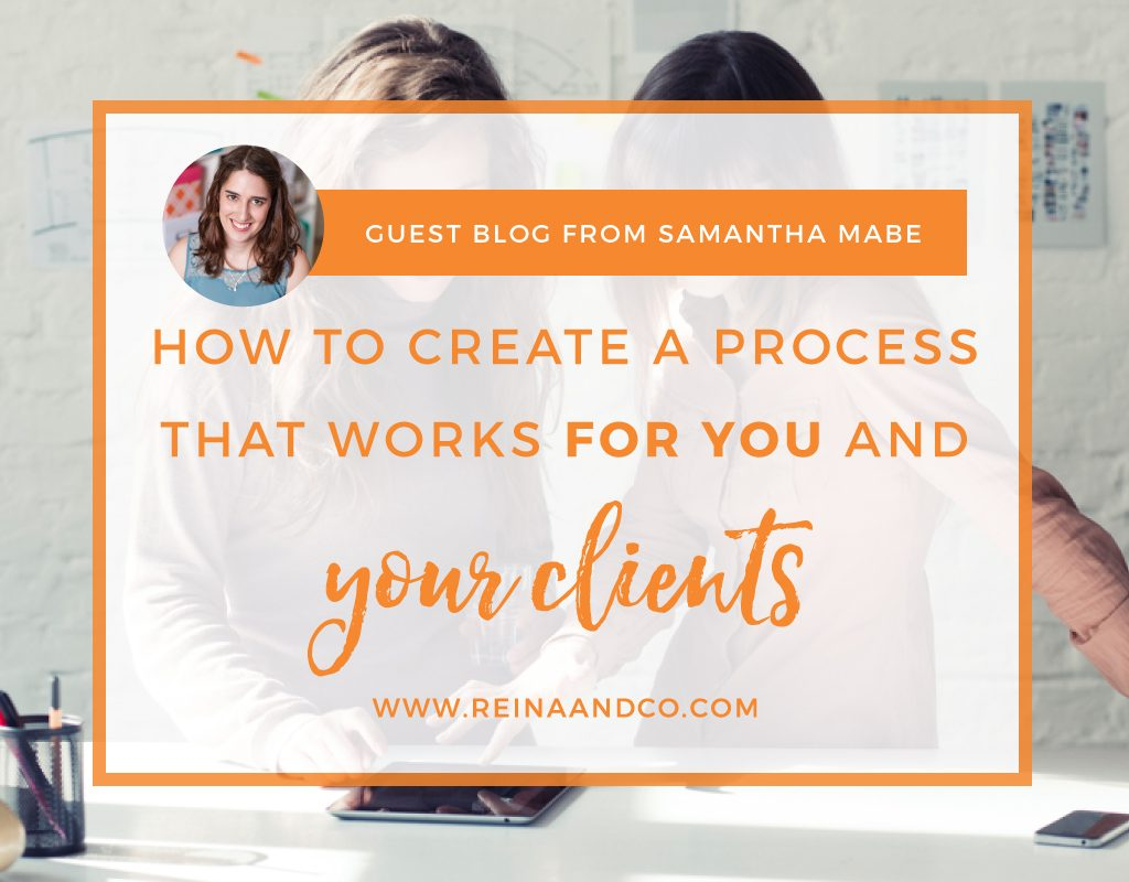 How to Create a Process that Works for You and Your Clients Reina + Co | Life + Biz Success Coaching Ⓡ