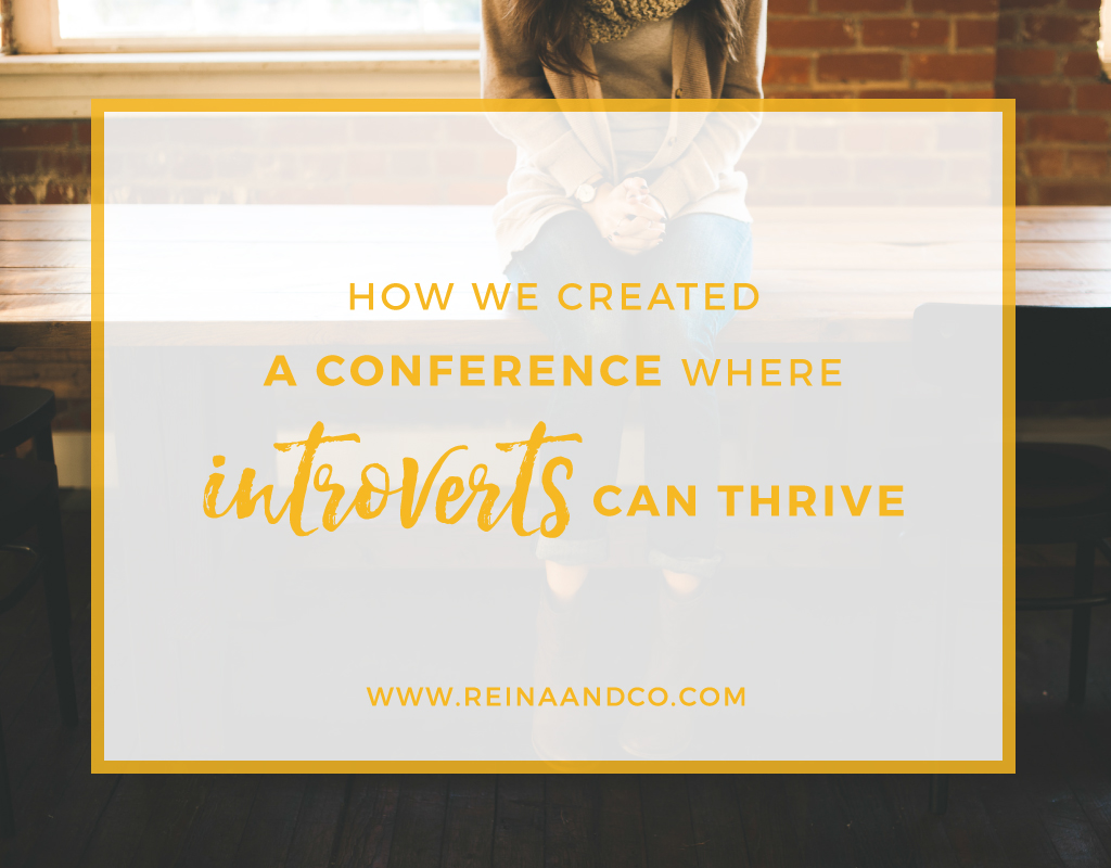 How we created a conference where introverts can thrive
