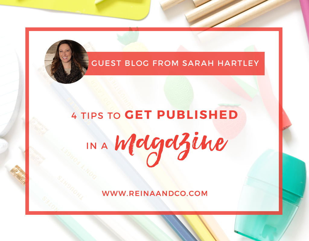4 Tips to Get Published in a Magazine