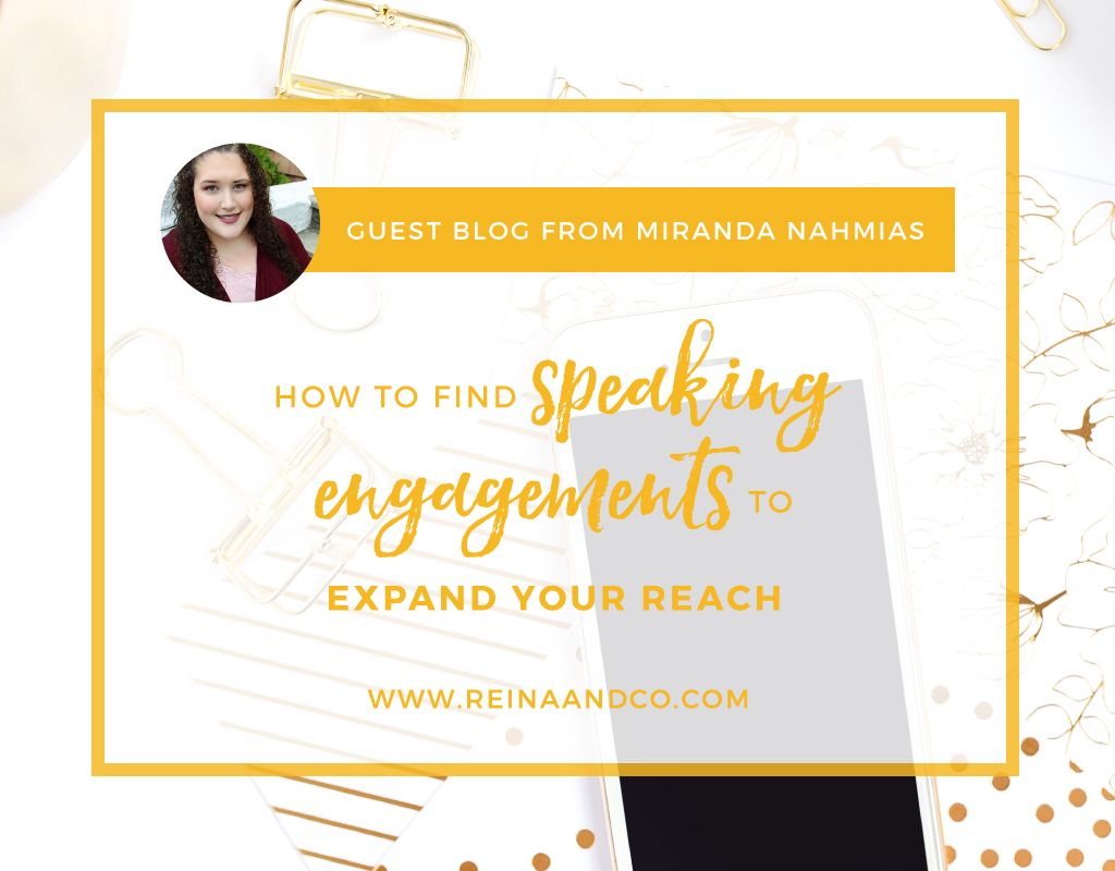 How to Find Speaking Engagements to Expand Your Reach