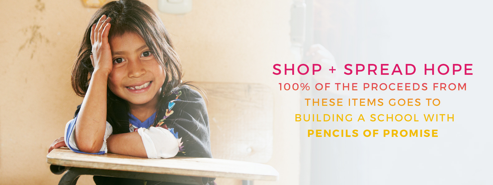 Pencils-of-Promise Shop Giving Back