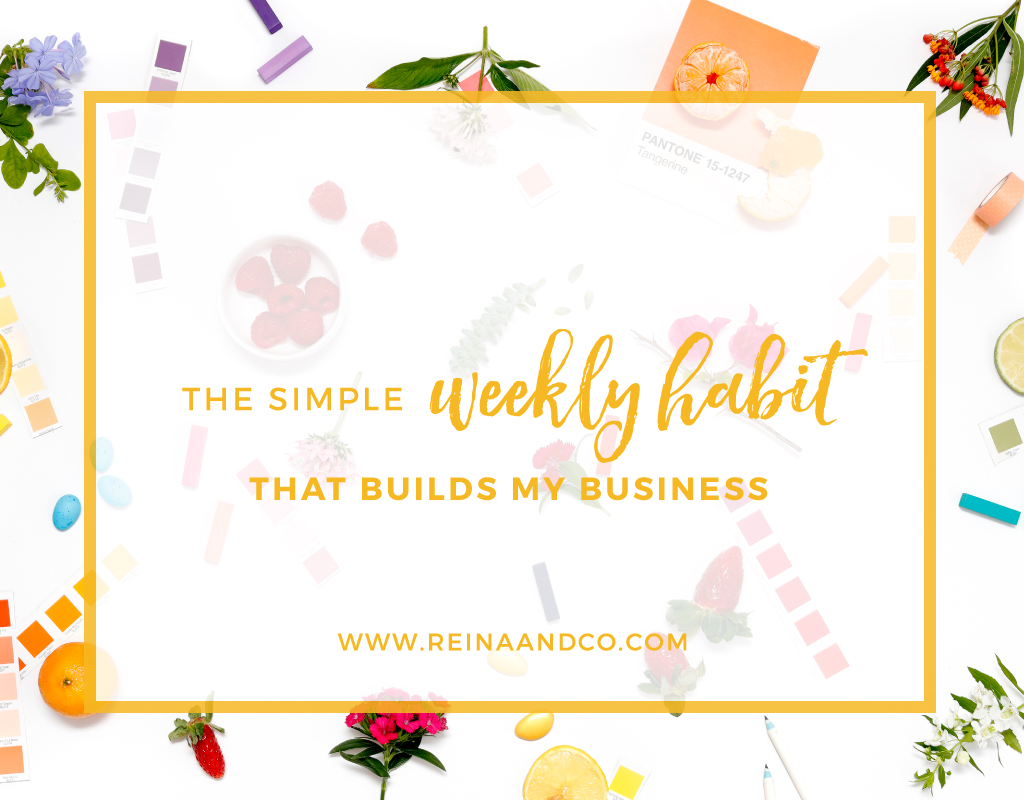 The Simple Weekly Habit that Builds My Business