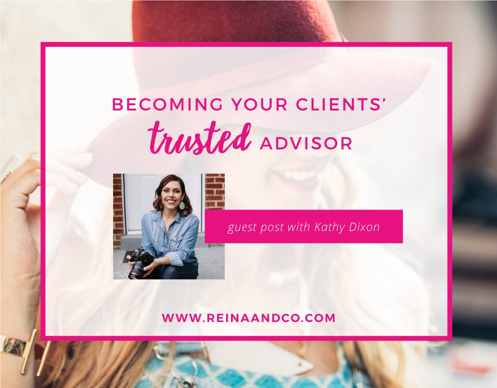 Becoming your clients' trusted advisor