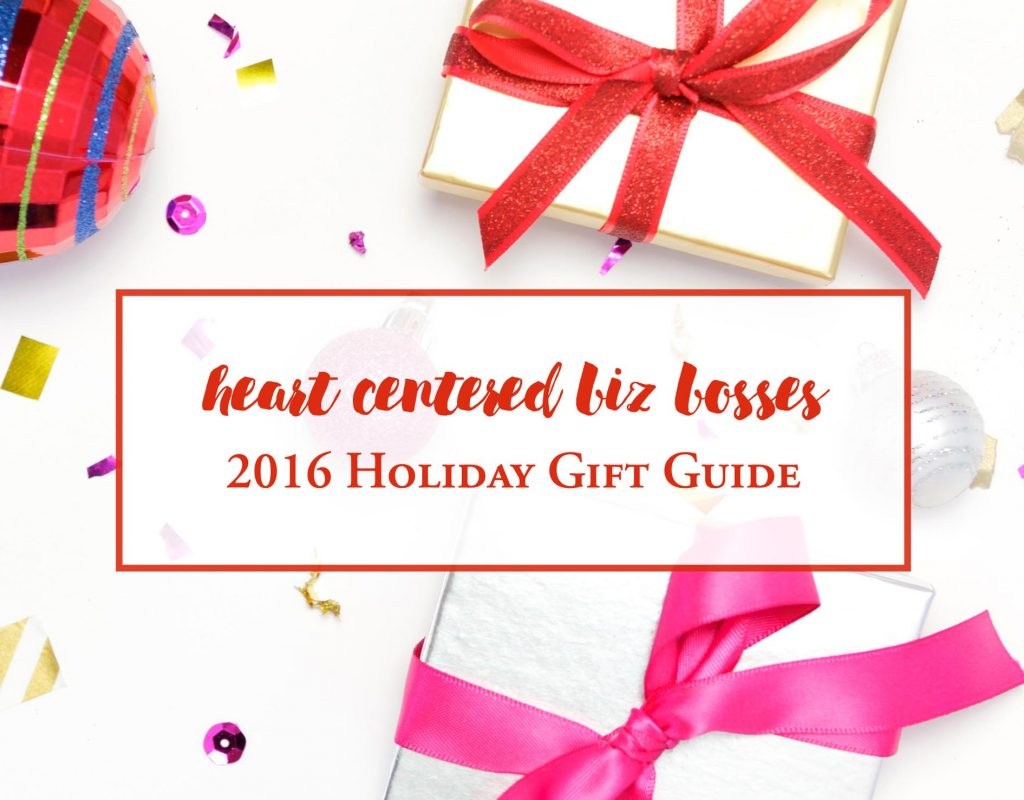 Heart Centered Biz Bosses Holiday Gift Guide
