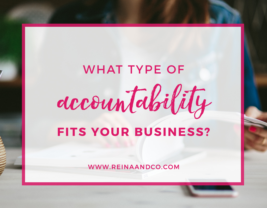 What type of accountability fits your business?