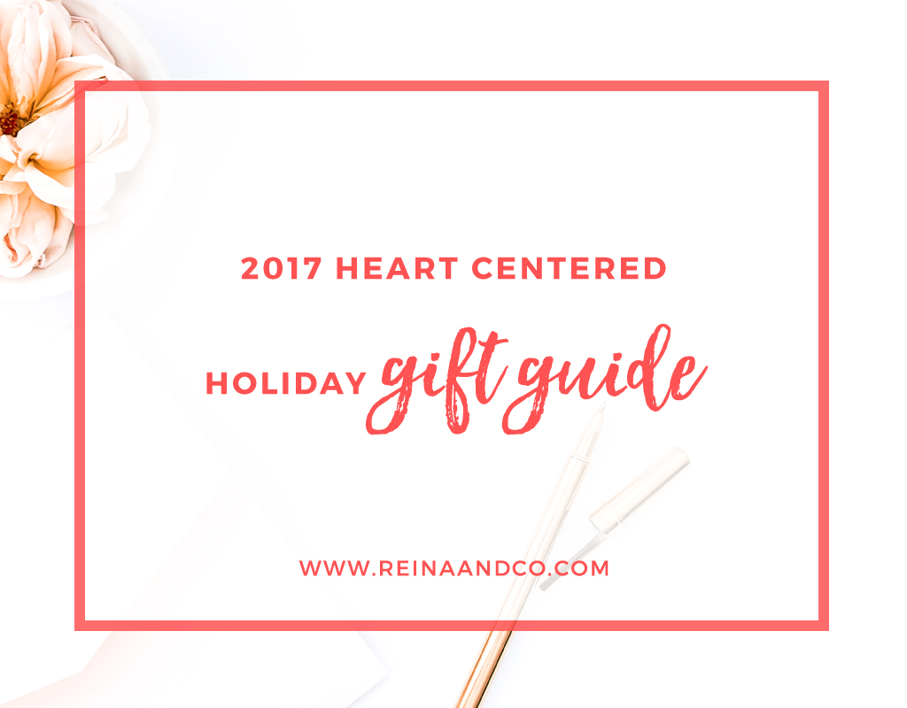 Heart Centered Holiday Gift Guide