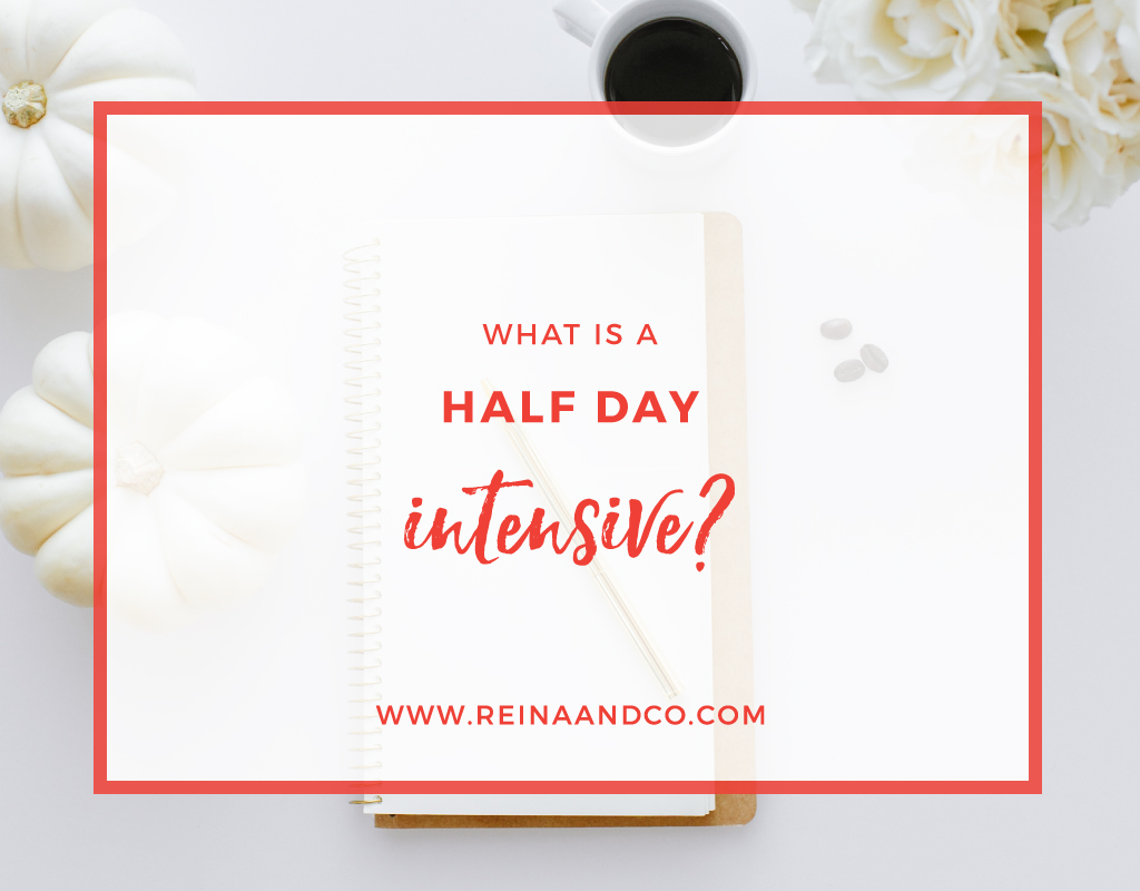What is a Half Day INtensive?